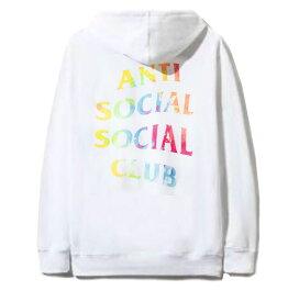 アンチソーシャルソーシャルクラブ(ANTI SOCIAL SOCIAL CLUB)スウェットパーカー/フーディー/タイダイホワイト ASSC Thai Dye White Hoodie【あす楽対応_関東】