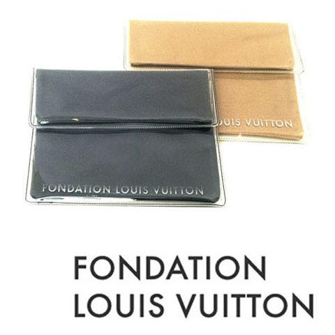 パリ限定!LOUIS VUITTON/ルイヴィトン美術館/タブレットケース/小物ポーチ/FONDATION LOUIS VUITTON/Tablet Pouch