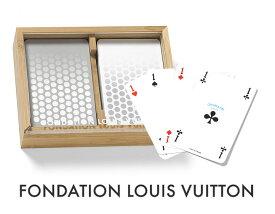 パリ限定!LOUIS VUITTON/ルイヴィトン美術館/トランプ2セット/木製ケース付き