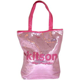 KITSON(キットソン)スパンコールトートバッグ(ピンク×ピンク) 【あす楽対応_関東】
