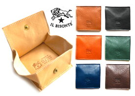 イルビゾンテ(Il Bisonte)レザーコインケース/スクエア型小銭入れ/C0615【あす楽対応_関東】