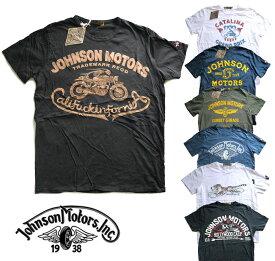 ジョンソンモータース(Johnson Motors)Tシャツ/ロゴプリント/メンズ半袖【あす楽対応_関東】