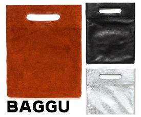 BAGGU(バグゥ)本革レザー&スウェードクラッチバッグ/LPB CLUTCH BAG/バグー【あす楽対応_関東】