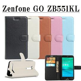 スマホケース ASUS Zenfone GO ZB551KL 手帳型ケース スマホカバー 手帳型 ケース スマホ カバー 手帳 Zenfone GO ZB551KL専用