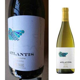 【訳あり/ラベル汚れ】アトランティス アルバリーニョ[2018] 750ml 白ワイン[スペイン/辛口/リアスバイシャス/アルバリーニョ/Atlantis Albarino]