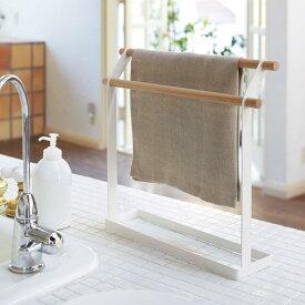 7822 布巾ハンガー トスカ 《tosca》 北欧 白 ハンガー ホワイト 木製 シンプル かわいい おしゃれ 山崎実業 yamazaki ordy