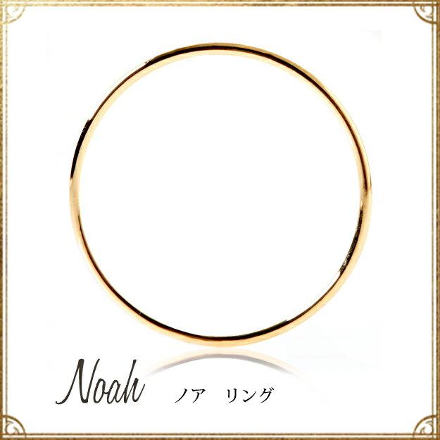 あす楽 K18ゴールド「ノア」リング 指輪★18k 18金 関節 ファランジ ストッパー 細 オレフィーチェ