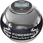 RPMSportsNSDパワーボール350HzMetalProDiabloメタルプロディアブロオートスタート機能デジタルカウンター搭載メタルモデル/リストボール筋トレ握力前腕手首トレーニング器具トレーニングボールローラーリストボール