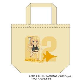 【ガーリー・エアフォース】 イーグル トートバッグ キャラクター グッズ キャンバス地 プレゼント Lサイズ 20L