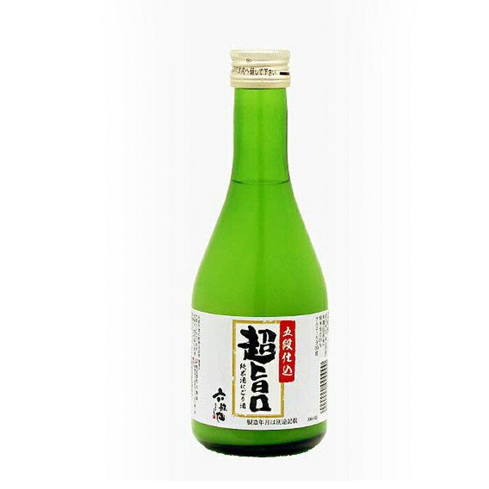 【山形 六歌仙】純米にごり酒(300ml)爽やかな甘口にごり酒!フルーティでコクのある味わい!