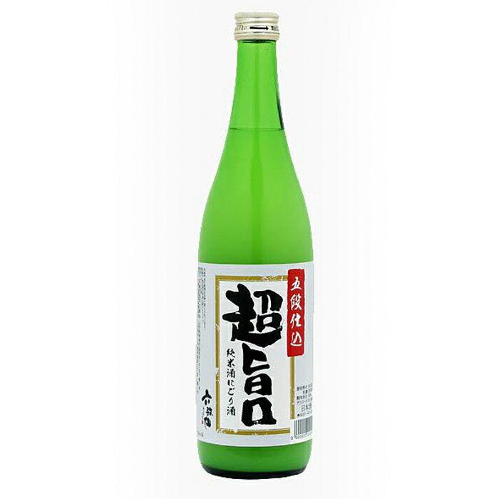 【山形 六歌仙】純米にごり酒(720ml)爽やかな甘口にごり酒!フルーティでコクのある味わい!