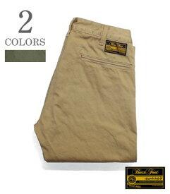 BEAR FOOT ベアフット Made in JAPAN ウエストポイント タイトフィット チノトラウザース『Weapon Trousers』【アメカジ・ワーク】BFTR-01(Work pants)