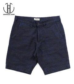 JAPAN BLUE ジャパンブルー ジャガードデニム|カモフラージュ|ショートパンツ『Camouflage Denim Shorts』【アメカジ・ワーク】J3230J05(Shorts)