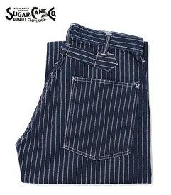 SUGAR CANE シュガーケーン ウォバッシュストライプ|ワークパンツ『WABASH WORK PANTS』【アメカジ・ワーク】SC40786A(Other pants)(std-workpants-sugarcane)