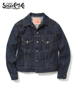 SUGAR CANE シュガーケーン ジージャン『14oz DENIM JACKET 1962'MODEL』【アメカジ・ワーク】SC11962A(Other jacket)(std-djk-sugarcane)