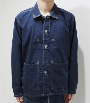 BUZZ RICKSON'S バズリクソンズ U.S.ARMY デニムワーキングジャケット M.O.D.『ARMY DENIM PULL OVER JACKET』【ミリタリー・ワーク】BR14095(Other jacket)