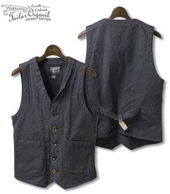 ORGUEIL オルゲイユ フレンチワークベスト『Work Wear Gilet』【アメカジ・ワーク】OR-4009(Vest)