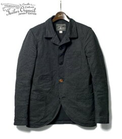 ORGUEIL オルゲイユ 19世紀初頭のクラシカルなサックジャケットを現代風にアレンジ『Sack Jacket』【アメカジ・ワーク】OR-4012(Other jacket)(std-cajk-orgueil)