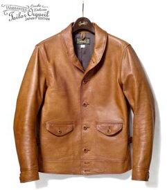 ORGUEIL オルゲイユ ハンドフィニッシュ|ステアオイルレザーコサックジャケット『Steer Oil Cossack Jacket』【アメカジ・ワーク】OR-4002B(Leather jacket)(std-lj-orgueil)