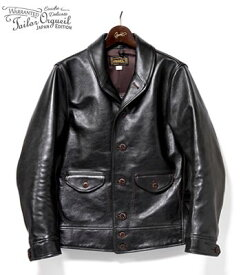 ORGUEIL オルゲイユ ホースハイド|レザーコサックジャケット『Horse Leather Cossack Jacket』【アメカジ・ワーク】OR-4002C(Leather jacket)(std-lj-orgueil)