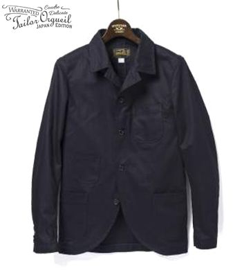 ORGUEIL オルゲイユ ウエポンクロス|サックジャケット『Weapon Chino Sack Jacket』【アメカジ・ワーク】OR-4074(Other jacket)