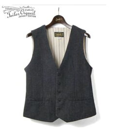 ORGUEIL オルゲイユ クラシックスタイル|ワーカーズ|ベスト|ジレ『Workers Gilet』【アメカジ・ワーク】OR-4142A(Vest)