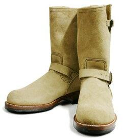 LONE WOLF ロンウルフ CAT'SPAWソールを使用した本格エンジニアブーツ!!『ENGINEER』LW00300(SUEDE)(Boots)