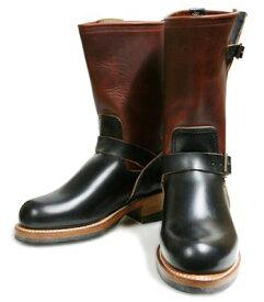 LONE WOLF ロンウルフ CAT'SPAWソールを使用した本格エンジニアブーツ!!『ENGINEER』LW00300(BLK/BRW)(Boots)