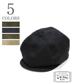 THE H.W.DOG&CO. ライトメルトン キャスケット『CASQUETTE』【アメカジ・ワーク】D-00271(Hat & Cap)
