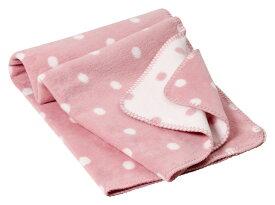 オーガニックコットン キッズ用綿毛布 PunkteBlush (ブランケット 出産祝い 出産準備 プレゼント ギフト ひざ掛け 新生児 ベビー寝具)