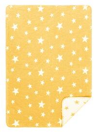 オーガニックコットン キッズ用綿毛布 NewStarsHonig (ブランケット 出産祝い 出産準備 プレゼント ギフト ひざ掛け 新生児 ベビー寝具)