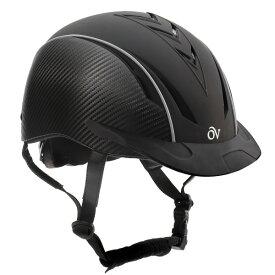 Ovation デラックス 乗馬用 ヘルメット カーボン /乗馬用品・馬具