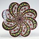 トルコ|トルコタイル|トルコ陶器|トルコ雑貨|鍋敷き|なべしき|鍋しき|鍋布き|トリベット Trivet|花型タイル…
