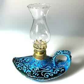 Aladdin|魔法のランプ|空飛ぶ絨毯|アラジン|トルコ|トルコ土産|トルコみやげ|トルコお土産|トルコおみやげ|トルコ雑貨|キャンドルホルダー|香炉|トルコ手描陶器アラジンランプ02