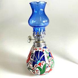 Aladdin|魔法のランプ|空飛ぶ絨毯|アラジン|トルコ|トルコ土産|トルコみやげ|トルコお土産|トルコおみやげ|トルコ雑貨|キャンドルホルダー|香炉|トルコ手描陶器小さなオイルランプ01
