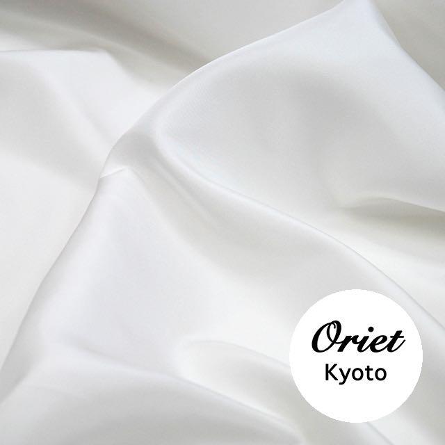 シルク 羽二重 ホワイト(白)ミドル(中肉)16匁/シルク100%/シルク 白/シルク布