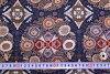 錦緞面料朵菊花頂海軍 < 日本面料花型日本日本日本琢磨織物的模式 >