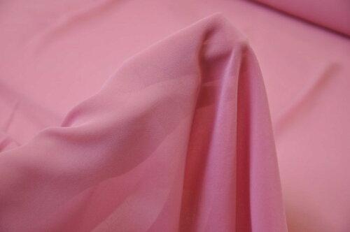 75Dポリエステルシフォン生地布ローズピンク☆服地,ストール,スカート,ブラウス,衣装,インテリア