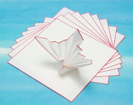 縁紅紙(四方紅) 21.5cm角