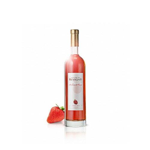 いちご酒 イチゴのワイン ワイン製法で造られた苺ワイン ハーフボトル フランス セリエ・ド・ルヴィニ- 500ml やや甘口