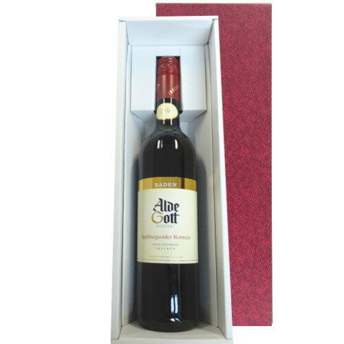 【送料無料】 あす楽 父の日 お酒 ワイン ギフト ドイツ 赤ワイン シュペートブルグンダー ピノ・ノワール バーデン地方 辛口 2014年 誕生日プレゼント お祝い お礼 お返しギフト 記念日 内祝 送別 ギフト箱入り