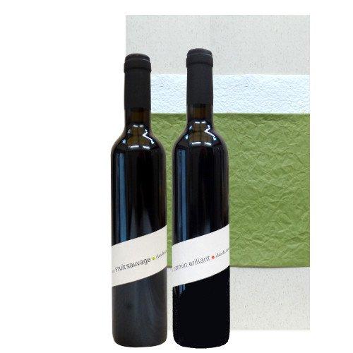 赤ワインギフト フランス コート・デュ・ローヌ地方 AOCヴァケラス オーガニックワイン 2本セット グルナッシュ シラー 500ml×2本 飲み比べセット
