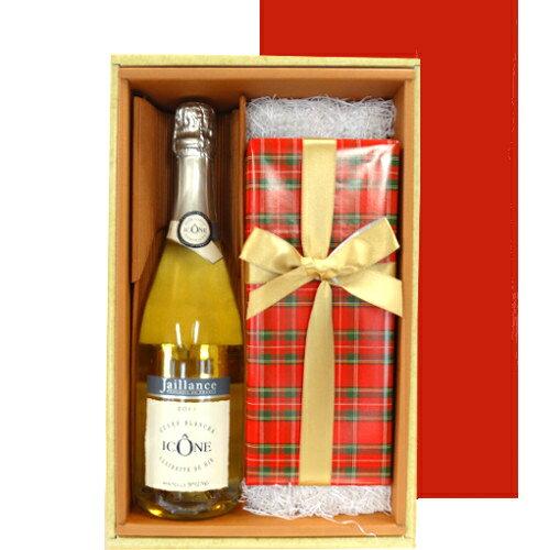 父の日ギフト あす楽 フランスのスパークリングワイン チェリーブランデーチョコレートケーキ 誕生日プレゼント 内祝い 記念日 お祝い 贈り物