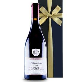 高級ワイン 送料無料 【ワインギフト】 フランス ブルゴーニュ アンリ・ピオン「シャンベルタン」2014年 750ml AOCシャンベルタン・グラン・クリュ AOC CHAMBERTIN GRAND CRU ピノ・ノワール 《のし可》 メッセージカード無料 ギフト箱入り