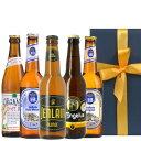 送料無料 冬ギフト 【ビール5本セット】飲み比べ フランス ドイツ クラフトビール 330ml×5本 詰め合わせ 「ルパース」 「ジャンラン」 「ホフブロイ」 「ピンカス」 オーガニック ビオ BIO