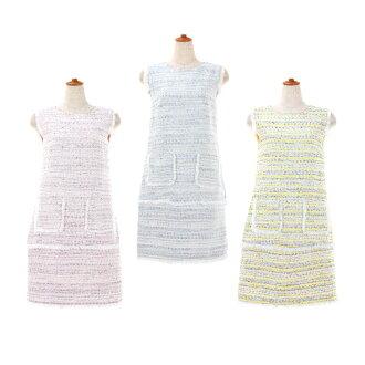 ☆ All tweed I line dress Prima Scherrer three colors