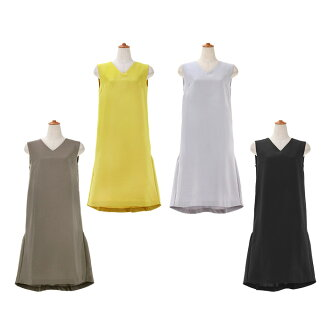 ★ All back heme change gathers dress Liala X PG four colors