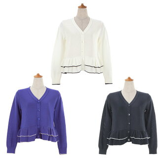 ★ I am going to send it out in - 3/ about the beginning for the 2/ end! All double frill cardigan knit Liala X PG three colors