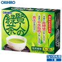 オリヒロ 賢人の緑茶 粉末緑茶 210g(7g×30本) 1個セット 30杯分 1杯あたり約72円