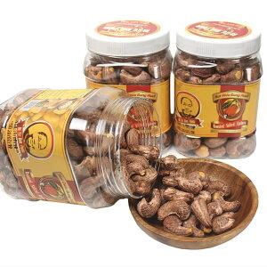 カシューナッツ ロースト うす塩 皮付き500PET(内容量455g)3個セット 焙煎 GIABAO ジアバオ ベトナム おつまみ おやつ 殻付き 塩味